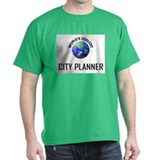 World's Coolest CITY PLANNER T-Shirt