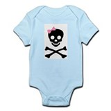 little (girl) pirate Onesie
