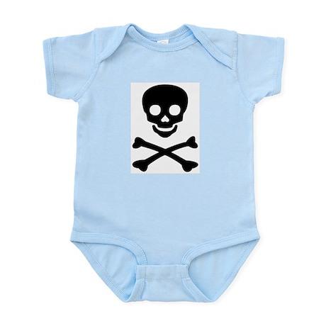 little (boy) pirate Infant Bodysuit