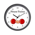 Fitness Trainer Wall Clock