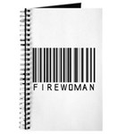 Firewoman Barcode Journal