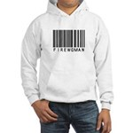 Firewoman Barcode Hooded Sweatshirt