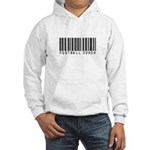 Football Coach Barcode Hooded Sweatshirt