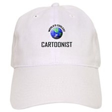World's Coolest CARTOONIST Baseball Cap