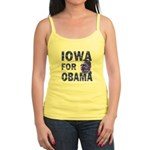 Iowa for Obama Jr. Spaghetti Tank
