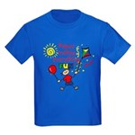 Papou Fun Boy Kids Dark T-Shirt