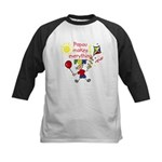 Papou Fun Boy Kids Baseball Jersey