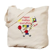 Poppa Fun Boy Tote Bag