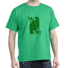 Irish Queen of Clubs T-Shirt