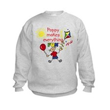 Poppy Fun Boy Sweatshirt