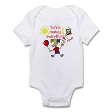 YiaYia Fun Boy Infant Bodysuit