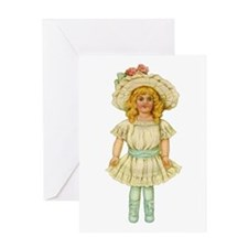 CHINA DOLL Greeting Card