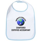 World's Coolest CHARTERED CERTIFIED ACCOUNTANT Bib