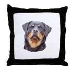 Rottweilers! Throw Pillow