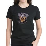 Rottweilers! Women's Dark T-Shirt