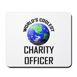 World's Coolest CHARITY OFFICER Mousepad