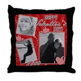 ajs Throw Pillow