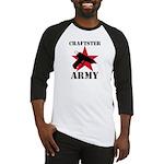 Craftster Army Baseball Jersey