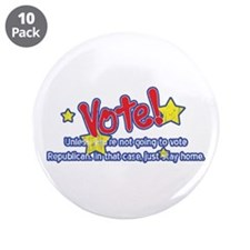"Vote Republican 3.5"" Button (10 pack)"