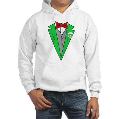 Irish Tuxedo T-Shirt Hooded Sweatshirt