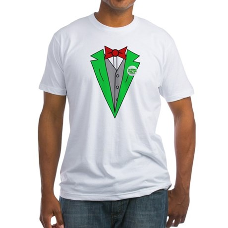Irish Tuxedo T-Shirt Fitted T-Shirt
