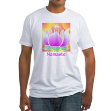 Bejeweled Lotus Flower Shirt