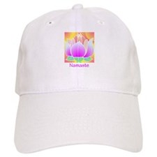 Bejeweled Lotus Flower Baseball Cap