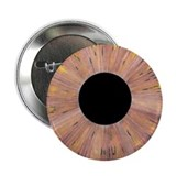 "Brown Eyeball 2.25"" Button (10 pack)"