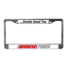 Biodiesel Power License Plate Frame