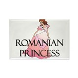 Romanian Princess Rectangle Magnet (10 pack)