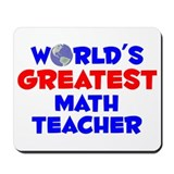 World's Greatest Math .. (A) Mousepad