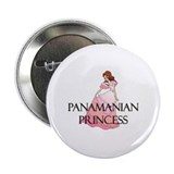 "Panamanian Princess 2.25"" Button (10 pack)"