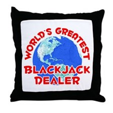 World's Greatest Black.. (F) Throw Pillow