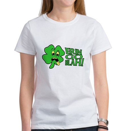 Erin Go Blah! Womens T-Shirt