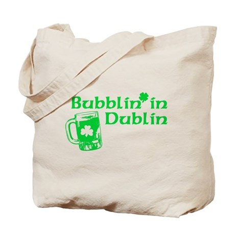 Bubblin' in Dublin Tote Bag