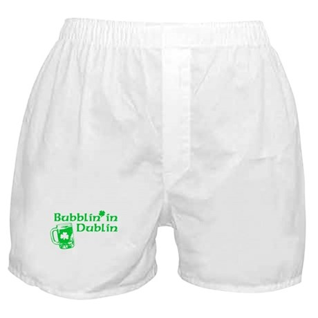 Bubblin' in Dublin Boxer Shorts