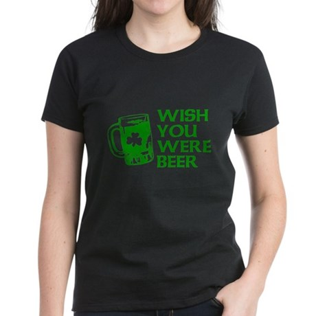 Wish You Were Beer Womens T-Shirt