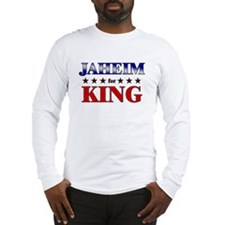 JAHEIM for king Long Sleeve T-Shirt