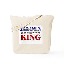 JAEDEN for king Tote Bag