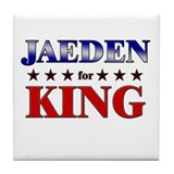 JAEDEN for king Tile Coaster
