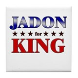 JADON for king Tile Coaster