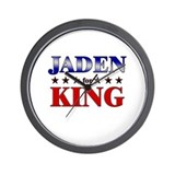 JADEN for king Wall Clock