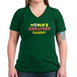 World's Greatest Nanny (B) Shirt