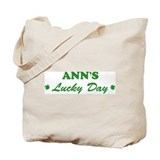 ANN - lucky day Tote Bag