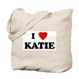 I Love KATIE Tote Bag