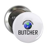 "World's Coolest BUTCHER 2.25"" Button (10 pack)"