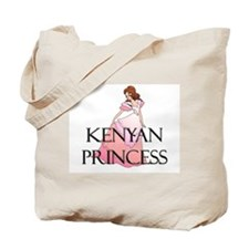 Kenyan Princess Tote Bag