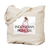 Indonesian Princess Tote Bag