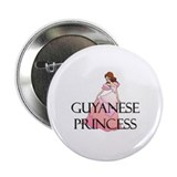 "Guyanese Princess 2.25"" Button"