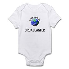 World's Coolest BROADCASTER Infant Bodysuit